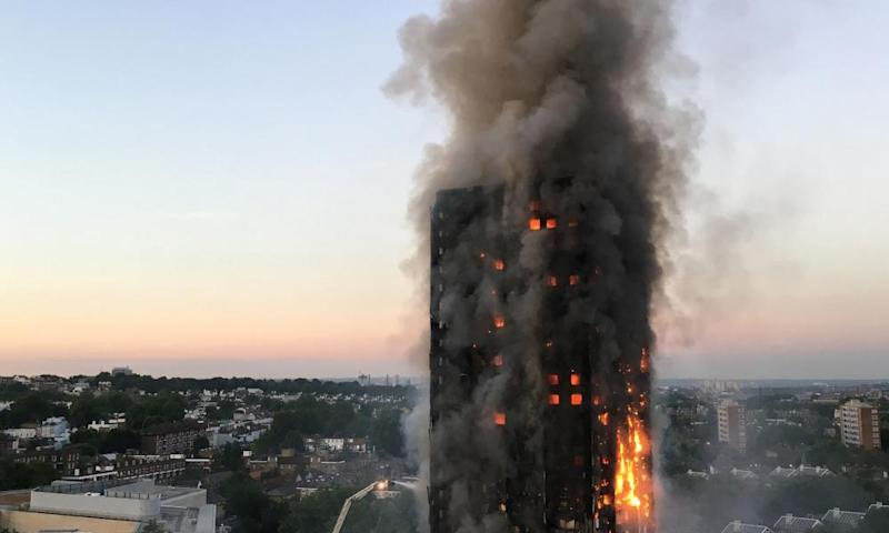 'The Grenfell Tower fire was a national tragedy, exposing a national breakdown in our system of fire-safety checks and controls.'