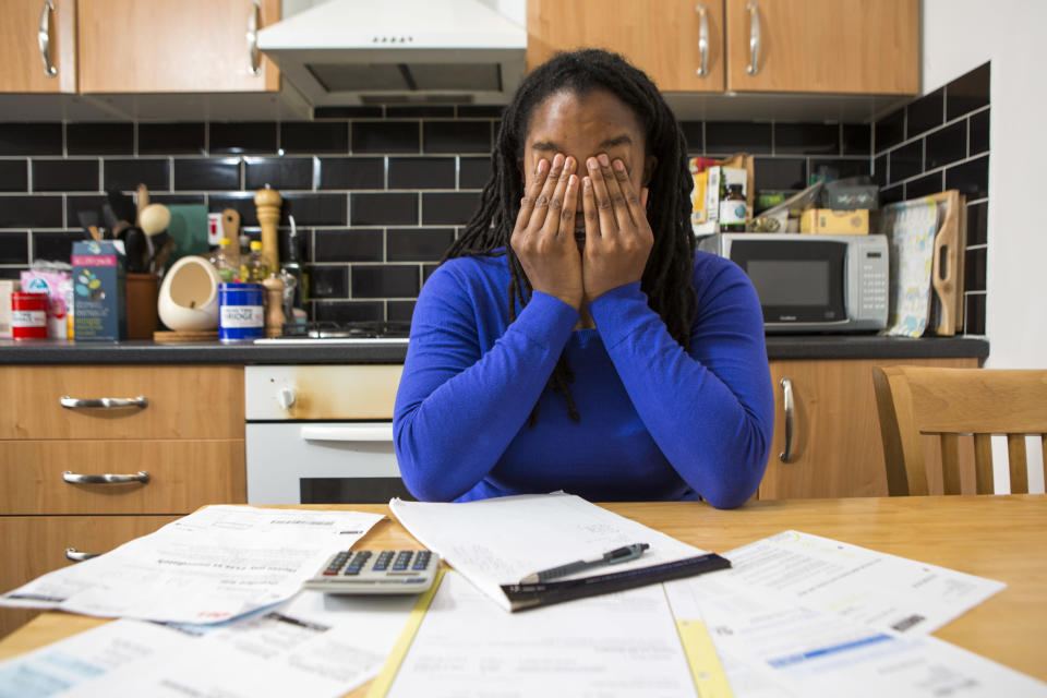 Thousands of households are struggling with additional loans they cannot afford (Getty Images)