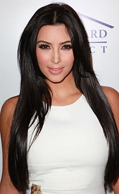 Kim Kardashian in Haiti for Celeb Charity Trip