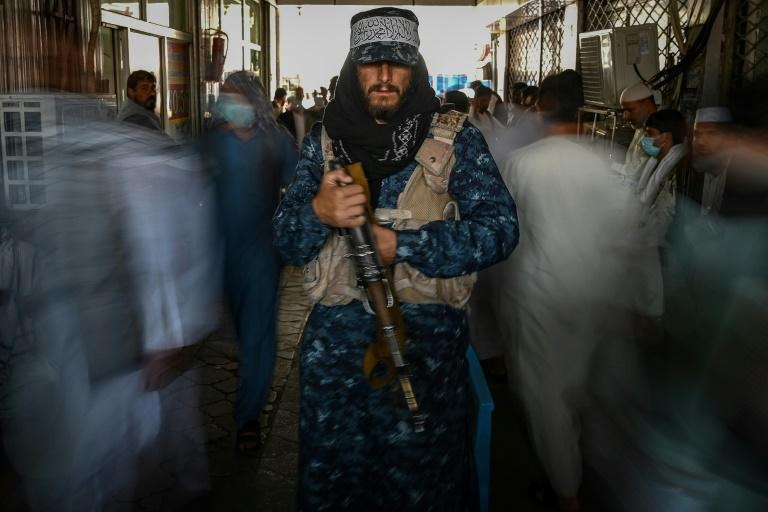 The Taliban were emboldened by their swift victories on the battlefield (AFP/Aamir QURESHI)