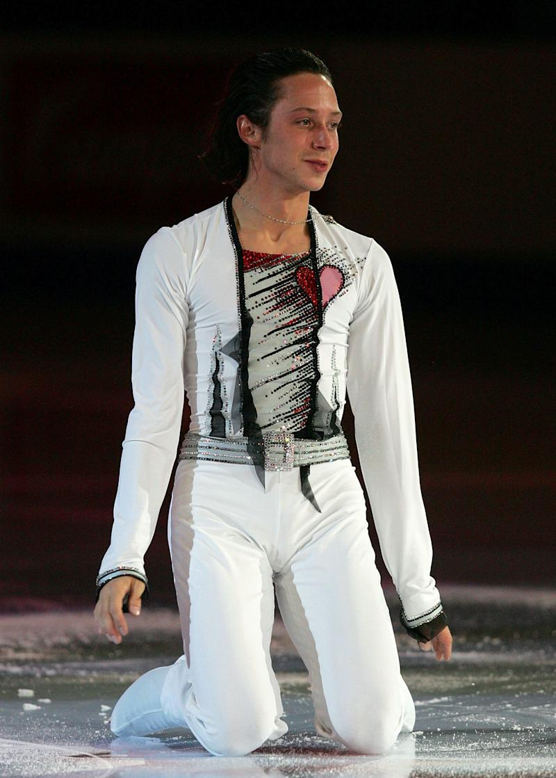 Performing in an exhibition during the State Farm U.S. Figure Skating Championships on Jan. 28, 2007, at Spokane Arena in Spokane, Washington.