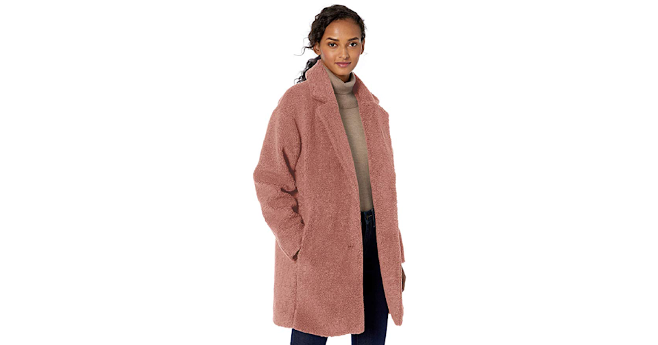 Part comfort object, part sophisticated outerwear. (Credit: Amazon)