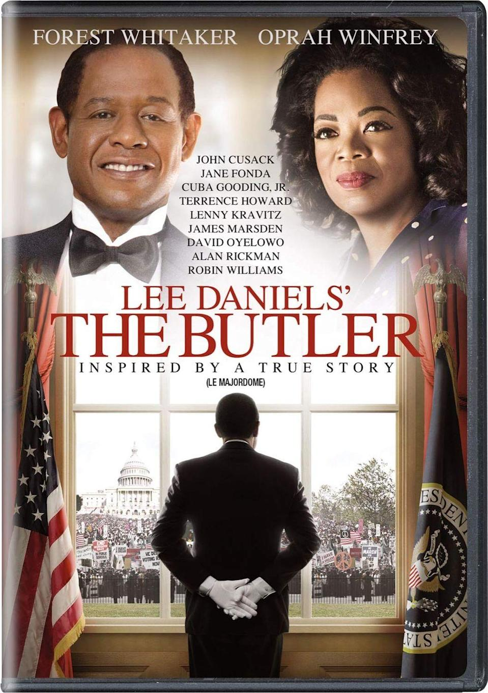 """<p><a class=""""link rapid-noclick-resp"""" href=""""https://www.amazon.com/Lee-Daniels-Butler-Forest-Whitaker/dp/B00H6PG2NG?tag=syn-yahoo-20&ascsubtag=%5Bartid%7C10063.g.35405329%5Bsrc%7Cyahoo-us"""" rel=""""nofollow noopener"""" target=""""_blank"""" data-ylk=""""slk:STREAM NOW"""">STREAM NOW</a></p><p>Inspired by the 2008 <em>Washington Post</em> article """"A Butler Well Served by This Election,"""" <em>The Butler </em>is loosely based on the life of Eugene Allen, a Black butler who spent 34 years working in the White House and witnessed several notable political and social events before retiring in 1986. </p>"""