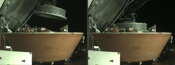 NASA said it had been able to maneuver Osiris-Rex's robotic arm which had been holding the leaking particles to a storage capsule near the center of the spacecraft, drop off the sample and close the capsule's lid