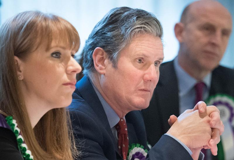 Angela Rayner and Keir Starmer (Photo: Stefan Rousseau - PA Images via Getty Images)
