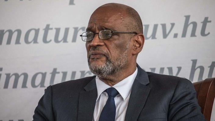 Former Prime Minister Ariel Henry pictured in 2021