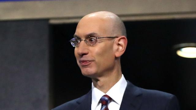 The likes of LeBron James and Kevin Durant were backed by NBA commissioner Adam Silver.
