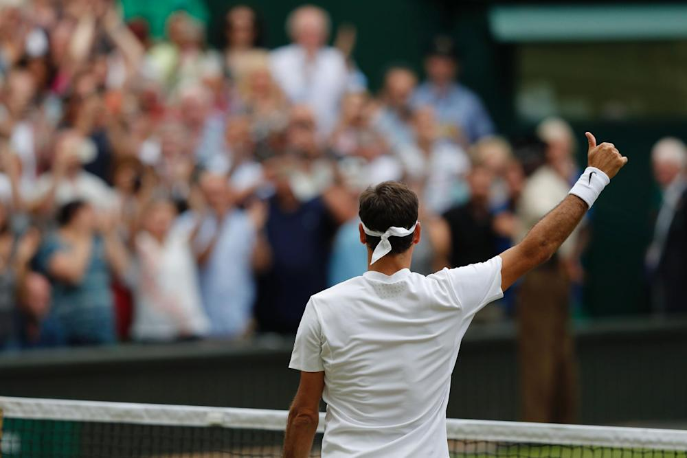 Federer won an unprecedented eighth title at this year's Championships: Getty