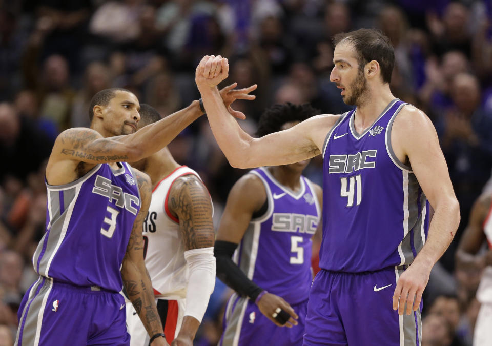 George Hill and Kosta Koufos might not solve all of Cleveland's issues, but they're a start. (AP)