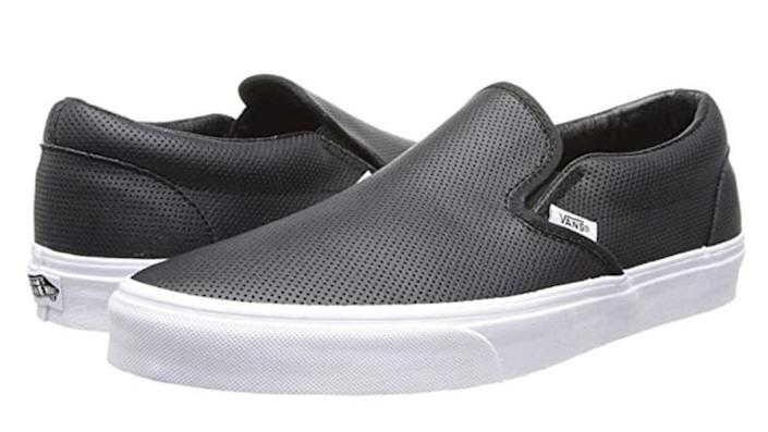 With the right outfit, these Vans can look downright fancy.
