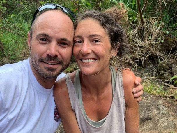 PHOTO: Hiker Amanda Eller was found after missing for 17 days, May 24, 2019, at Makawao Forest Reserve on the Hawaiian Island of Maui. (Courtesy Troy Helmer)