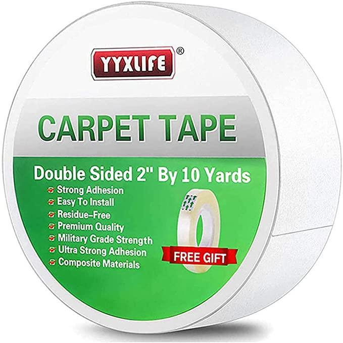 """<h2>YYXLIFE Carpet Tape <br></h2><br><strong>Best Used For: </strong>Keeping rugs in place<strong> <br><br>The Hype: </strong>4.6 out of 5 stars and 31,814 ratings<strong><br><br>Practical Peeps say: """"</strong>Best double-sided tape ever. I have used quite a few brands over the years with mixed results. This tape has the two most important qualities that you need in this type of tape. One, it sticks well and stays stuck. Two, it's easy to peel off the vinyl protective with a light slice of a razor knife. <strong>""""</strong><br><br><em>Shop <strong><a href=""""https://amzn.to/3iD6Iuf"""" rel=""""nofollow noopener"""" target=""""_blank"""" data-ylk=""""slk:Amazon"""" class=""""link rapid-noclick-resp"""">Amazon</a></strong></em><br><br><strong>YYXLIFE</strong> Double Sided Carpet Tape, $, available at <a href=""""https://amzn.to/2W1ldQJ"""" rel=""""nofollow noopener"""" target=""""_blank"""" data-ylk=""""slk:Amazon"""" class=""""link rapid-noclick-resp"""">Amazon</a>"""