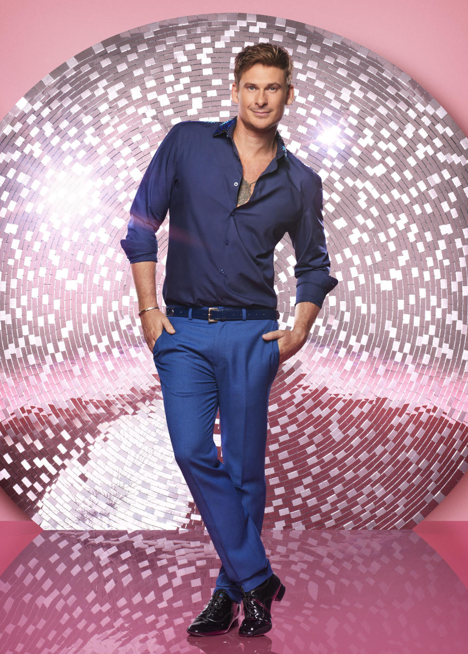 """<p>Blue bandmember and former EastEnders actor Lee Ryan said he's honoured to join this year's line-up: """"It is nice to say now that I was on one of the biggest soaps that has ever existed in this country and now I'm on one of the biggest shows in this country so I feel very privileged,"""" Ryan told us. (BBC Pictures). </p>"""