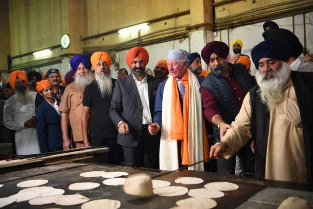 Royal visit to India – Day One