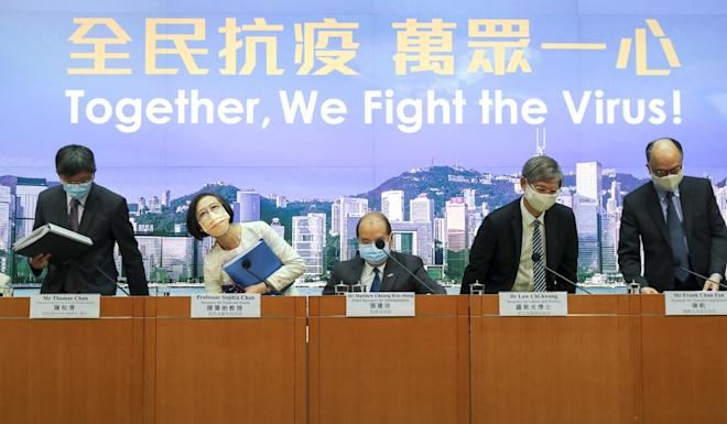 Hong Kong's ministers have issued a united online call for public support for the citywide testing. Photo: Edmond So
