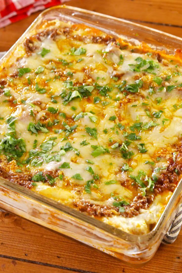 """<p>Going Keto can be hard when you start thinking about what you'll be missing. Luckily, a <a href=""""https://www.delish.com/cooking/recipe-ideas/recipes/a51337/classic-lasagna-recipe/"""" rel=""""nofollow noopener"""" target=""""_blank"""" data-ylk=""""slk:Classic Lasagne"""" class=""""link rapid-noclick-resp"""">Classic Lasagne</a> won't be one of them. It's the comforting dish you no longer have to crave. </p><p>Get the <a href=""""https://www.delish.com/uk/cooking/recipes/a30131196/keto-lasagna-recipe/"""" rel=""""nofollow noopener"""" target=""""_blank"""" data-ylk=""""slk:Keto Lasagne"""" class=""""link rapid-noclick-resp"""">Keto Lasagne</a> recipe.</p>"""