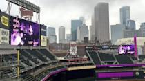 """<p>The Minnesota Twins <a href=""""http://m.mlb.com/cutfour/2016/04/21/173658484/twins-honor-prince-at-target-field"""" rel=""""nofollow noopener"""" target=""""_blank"""" data-ylk=""""slk:turned everything violet"""" class=""""link rapid-noclick-resp"""">turned everything violet</a> — from their field to their Twitter account. <i>(Photo: Twitter)</i></p>"""