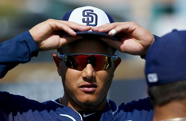 "Manny Machado knows he'll continue being a ""villain"" in the eyes of some fans. (AP Photo/Ross D. Franklin)"