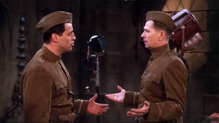 Matt LeBlanc and Gary Oldman in 'Over There' from 'Friends'