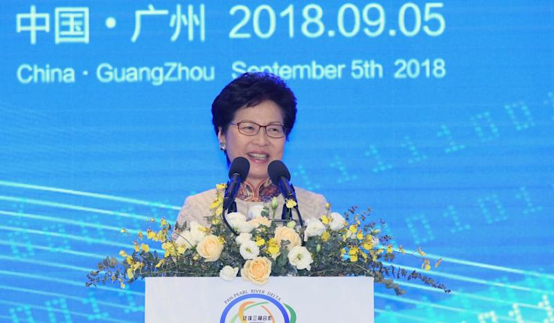 China's 'Greater Bay Area' plan will not compromise Hong Kong's judicial independence, city leader Carrie Lam says