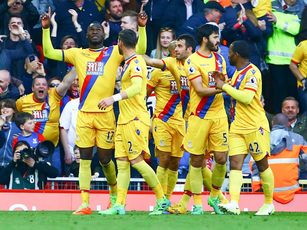 The victory edges Crystal Palace towards Premier League survival: Getty