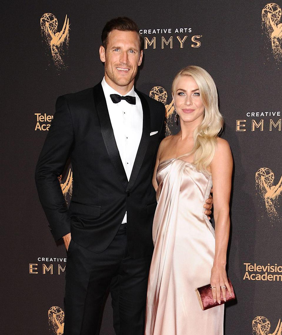 "<p>The <em>Dancing With the Stars</em> dancer married NHL star Brooke Laich in 2017. Hough's custom Marchesa <a href=""https://www.brides.com/wedding-dresses-4692022"" rel=""nofollow noopener"" target=""_blank"" data-ylk=""slk:wedding dress"" class=""link rapid-noclick-resp"">wedding dress</a> cost around $20,000 alone, and the total for the couple's outdoor Idaho wedding is said to have been between $232,000 to $236,000. </p>"