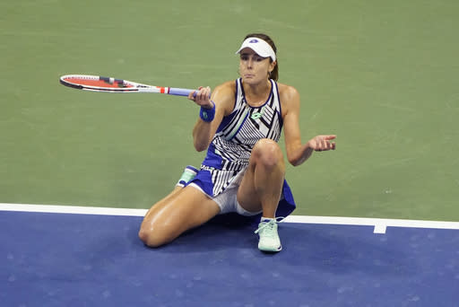 'Just wow': Brady, Rogers join Osaka in US Open quarters