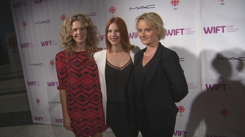 Soiree at Canadian Broadcasting Centre celebrates Canadian women in entertainment