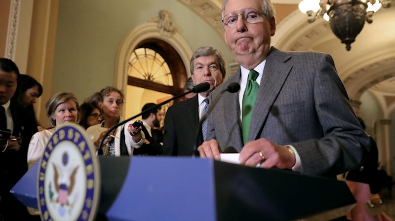Senate Unveils Rival Tax Bill, Setting Up Showdown With House