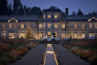 """<p>At Christmas, North Yorkshire's <a href=""""https://www.booking.com/hotel/gb/grantley-hall.en-gb.html?aid=2070929&label=christmas-hotels"""" rel=""""nofollow noopener"""" target=""""_blank"""" data-ylk=""""slk:Grantley Hall"""" class=""""link rapid-noclick-resp"""">Grantley Hall</a> is magically transformed into a winter wonderland adorned with decadent decorations, twinkling lights and roaring fires. During Christmas and New Year's Eve, there are impressive festive menus and families are invited to experience the magical world of Narnia as the Grantley Suite and Japanese garden are transformed into the mystical land. Children can follow the winter trail to visit Santa's Grotto, nestled in the snow-covered gardens.</p><p><a class=""""link rapid-noclick-resp"""" href=""""https://www.booking.com/hotel/gb/grantley-hall.en-gb.html?aid=2070929&label=christmas-hotels"""" rel=""""nofollow noopener"""" target=""""_blank"""" data-ylk=""""slk:CHECK AVAILABILITY"""">CHECK AVAILABILITY</a></p>"""