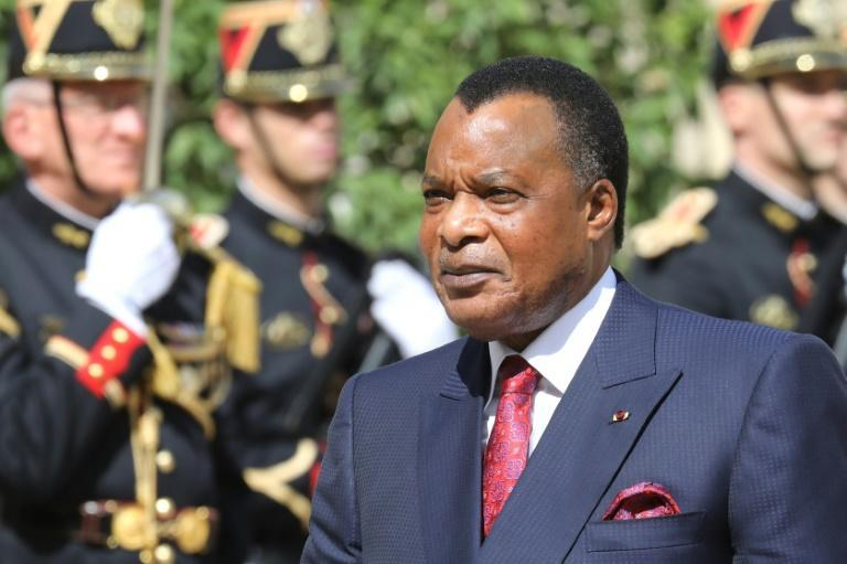 President Denis Sassou Nguesso first rose to power in 1979 -- he has notched up a total of 36 years in office