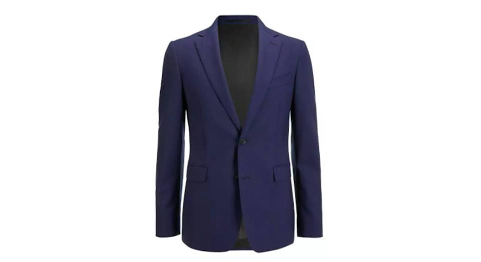 Wool Travel Suit Jacket