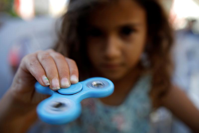 Mom says a fidget spinner almost  killed her kid