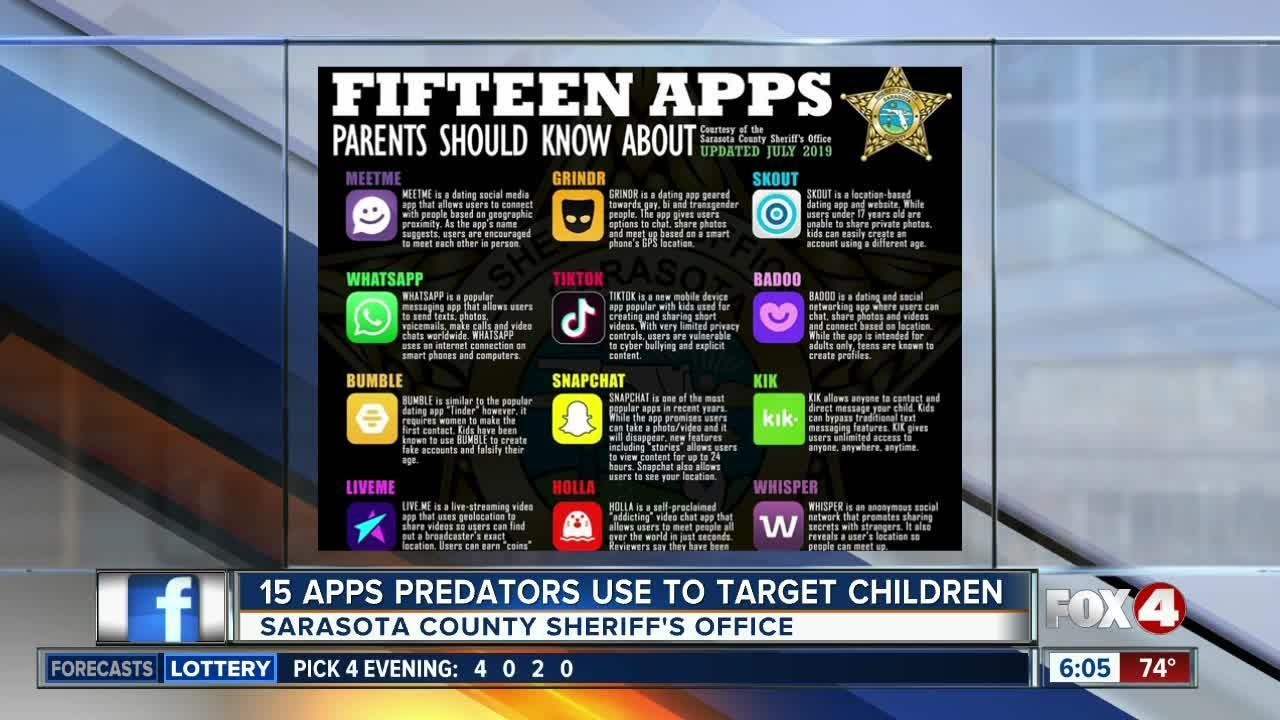 15 apps that predators may be using to target children