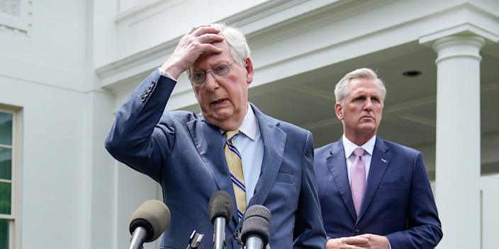 mitch mcconnell kevin mccarthy