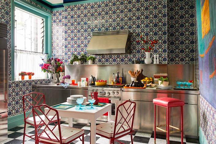 "<cite class=""credit""><a href=""https://www.architecturaldigest.com/story/decorator-patrick-mele-amps-up-a-couples-london-home-with-zesty-colors-and-patterns?mbid=synd_yahoo_rss"" rel=""nofollow noopener"" target=""_blank"" data-ylk=""slk:Decorator Patrick Mele Amps Up a Couple's London Home With Zesty Colors and Patterns"" class=""link rapid-noclick-resp"">Decorator Patrick Mele Amps Up a Couple's London Home With Zesty Colors and Patterns</a>. Photo by Miguel Flores-Vianna.</cite>"