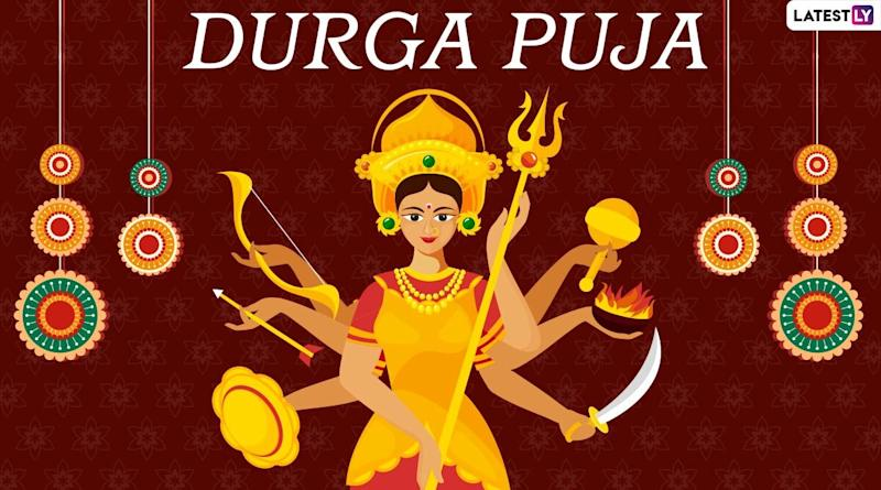 Durga Puja 2020 Calendar for Five-Day Festival: When Is Durga Ashtami? Check Full Dates and Day-Wise Pujo Chart to Worship Maa Durga
