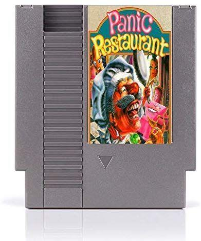 """<p>1992's Panic Restaurant basically involves fighting off evil chickens and pizzas. And now it's worth around <a href=""""https://www.ebay.com/itm/Original-Authentic-Panic-Restaurant-Nintendo-NES-Taito-1992/173985920313?hash=item28825e7539:g:-44AAOSwiG1dRgNF"""" rel=""""nofollow noopener"""" target=""""_blank"""" data-ylk=""""slk:$500"""" class=""""link rapid-noclick-resp"""">$500</a>. Although I'd like to just make it clear that obviously there is no such thing as an evil pizza. </p>"""