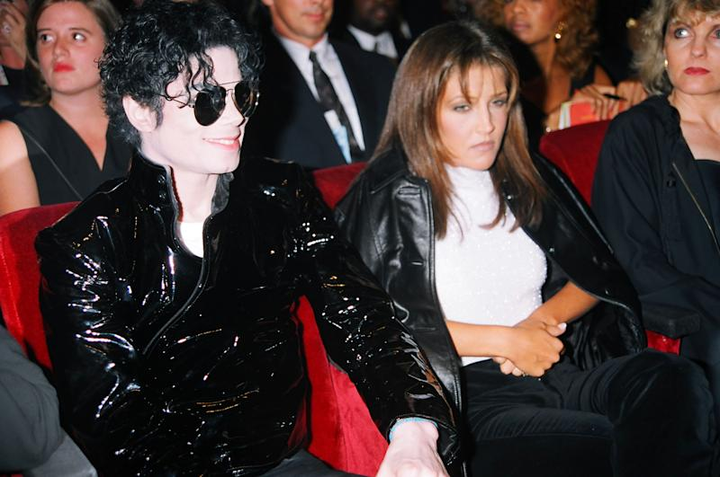 Michael Jackson & Lisa-Marie Presley (Photo by Jeff Kravitz/FilmMagic)