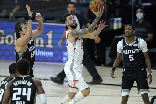 Rivers has career-high 41 as Rockets down Kings 129-112