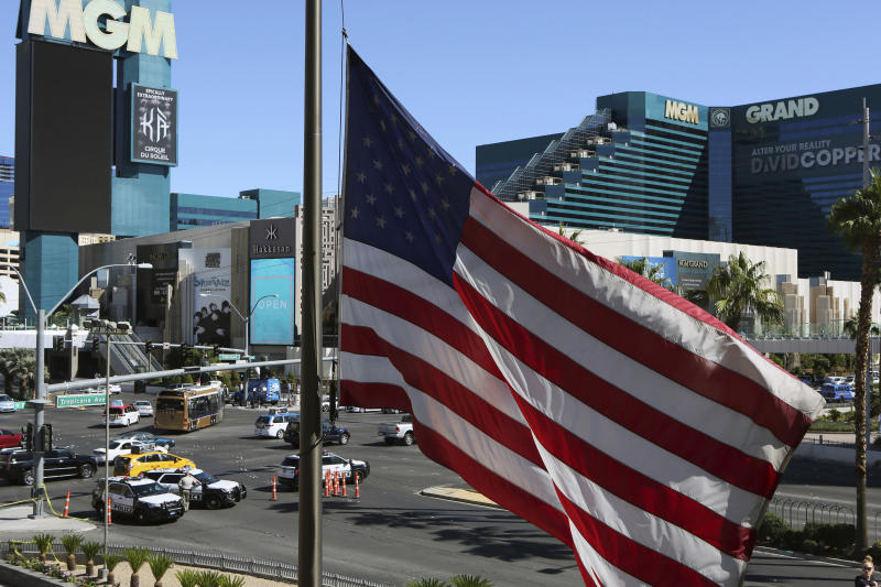 MGM turns to never-tested law to sue Vegas shooting victims