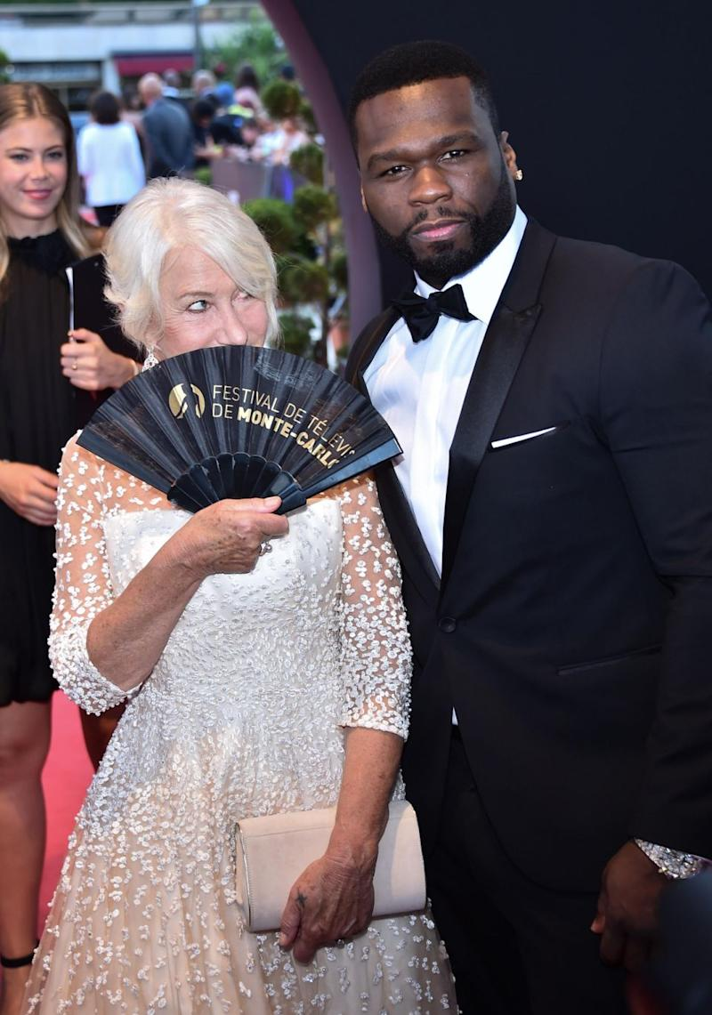 She's flirting with you, 50 Cent! Source: Getty