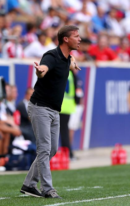 Jesse Marsch replaced club legend Mike Petke as Red Bulls head coach. (Getty Images)