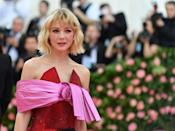"British actress Carey Mulligan is a favorite for best actress honors at the Golden Globes for her searing work on ""Promising Young Woman"""