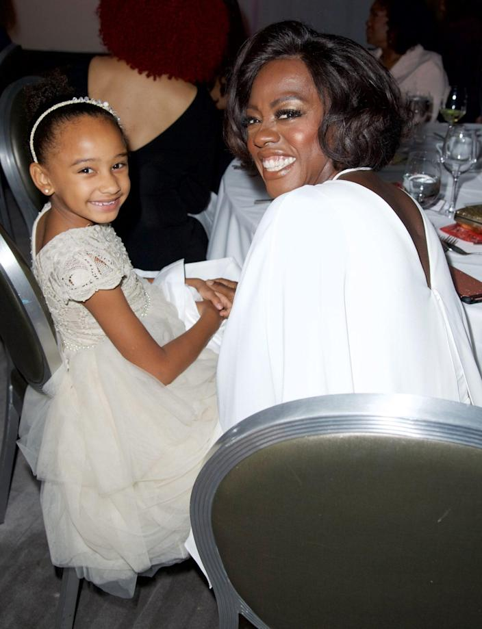 <p>Like mother, like daughter! The pair got all dolled up and attended the 11th Annual Just Like My Child Foundation Gala in November 2017. </p>