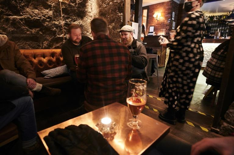 Bars were allowed to reopen this week