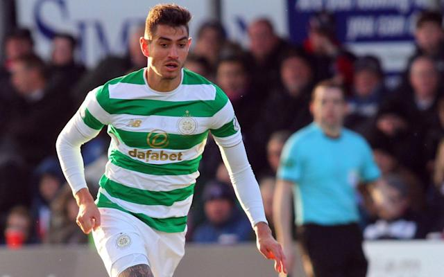 "Nir Bitton was not called upon to endure the painful experience of facing Paris St-Germain when they inflicted a 5-0 home defeat on Celtic in the Champions League group stage tie in September but on Wednesday he could be called upon to stand against the fearsome trio of Neymar, Edinson Cavani and Kylian Mbappé when the teams meet again in the French capital. That prospect is not lightened by the fact that Bitton has been operating as a makeshift centre-back, a role that has seen him draw fire from critics who regard the Israel international midfielder as a risk at the heart of the back line. He was allotted the task because of injuries to Jozo Simunovic and Erik Sviatchenko, both of whom are now back in training. The Celtic manager, Brendan Rodgers, however, praised Bitton after his side's 1-0 win against Ross County in Dingwall on Saturday, when he said: ""This guy gets slated for not being a centre-half, but I haven't seen one better outside of Celtic [in the SPFL]."" When Rodgers' comment was subsequently relayed to Bitton, the 26-year-old grinned. ""I told you a few weeks ago I'm a £50 million player,"" he said. ""No, I am trying to do my best and still trying to learn the position. ""I don't know if you see it but Dedryck Boyata is talking to me all through the game. I don't know if he has lost his voice by now. He is trying to help and guide me. ""I haven't played centre midfield for a long time now. If the gaffer thinks I deserve to play centre back, that's what I will do. If he thinks I should play as goalkeeper, that's what I will do. I am enjoying it, I am enjoying my football and winning and I am just trying to keep that going."" Beating Spurs is Arsenal's Cup final 39:00 Recent performances have revealed a more assertive streak to Bitton in his newly-acquired incarnation. ""I don't know if it's more aggression but as a centre-back you need to jump, you need to be strong, you need to press the strikers,"" he said. ""For football players it's all about confidence. When you get confidence from the manager and from the players around you, you can do things you didn't do before, but it's still an early stage for me as a centre-back and I'm still trying to learn the position. I'm trying to be better and there are a lot of things to do."" Should Bitton be called upon to go in against the might of the PSG front three, he will have no illusions about the magnitude of the task. ""In every respect Wednesday is going to be different conditions from the game at Ross County – very different players and maybe the best front three in the world right now. ""You just need to face it and you just need to enjoy it as much as you can. Everybody knows that PSG are better than Celtic but we need to compete and show that we deserve to play at this level and hopefully we will do that. ""When you play against Neymar, Mbappé, Cavani – it doesn't matter who plays there – you need to make no mistakes and compete and, if we do that, hopefully Wednesday will be another kind of game. With Aberdeen held to a home draw by Motherwell and Rangers and Hibernian losing at home to Hamilton Academical and St Johnstone respectively, Celtic are now six points clear at the top of the SPFL Premiership ahead of next Sunday's meeting with Motherwell in the Betfred Scottish League Cup final at Hampden Park."