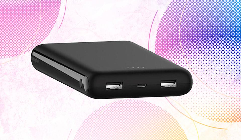 A $40 value included free, the Mophie Power Boost XXL provides on-the-go juice for all your gadgets. (Photo: Mophie)