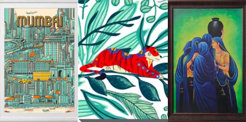 Shop: Unique, fun and colourful artworks to spruce up your walls