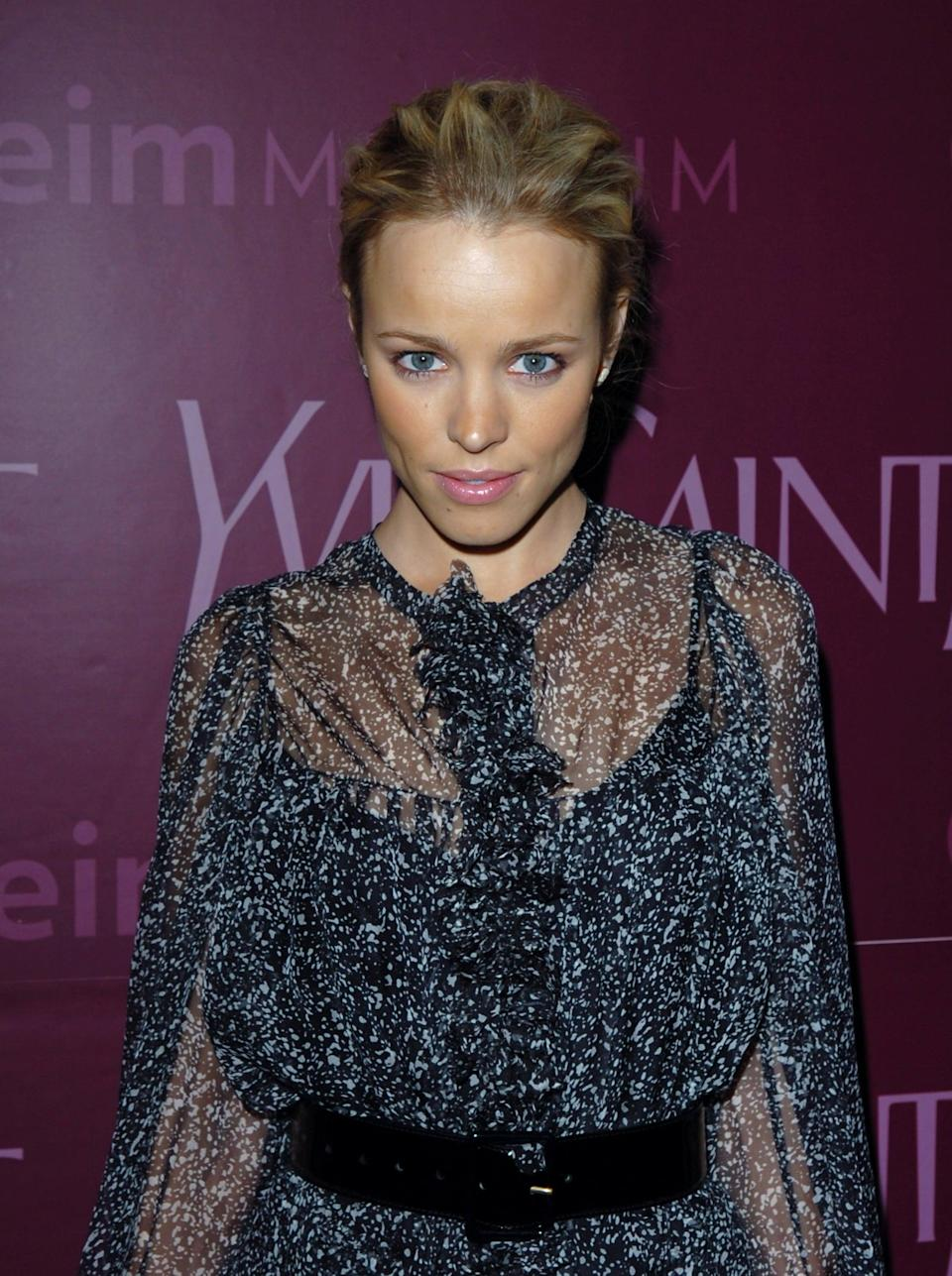"""<p>Back in 2005, <a class=""""link rapid-noclick-resp"""" href=""""https://www.popsugar.com/Rachel-McAdams"""" rel=""""nofollow noopener"""" target=""""_blank"""" data-ylk=""""slk:Rachel McAdams"""">Rachel McAdams</a> wore a demure chiffon midi dress, which she accessorized with a thick black belt and patent Mary Janes. This year, modest fashion has been one of the biggest trends, with higher necklines, longer hemlines, and bigger sleeves slowly but surely taking over our closets.</p>"""